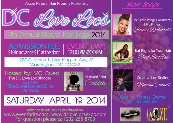 9th Annual DC Love Locs Expo!
