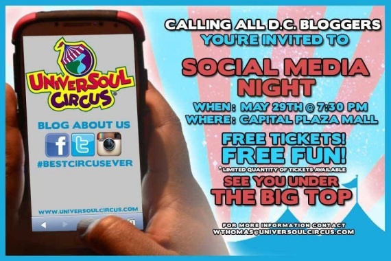 Social Media Night at the Universal Soul Circus!